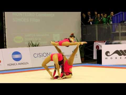 Gymnastics MIAC 2014 AG1 WG Balance POR AAC
