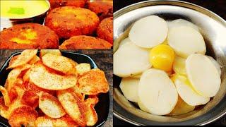 3 Quick Evening Snack Recipe | Very tasty Potato Evening Snacks| Lock down Recipes|
