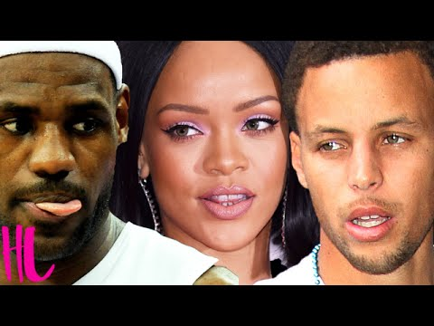 Rihanna Shades Stephen Curry For Lebron James After NBA Finals Win