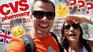 Brits Explore CVS for the FIRST TIME! | Vegas Series