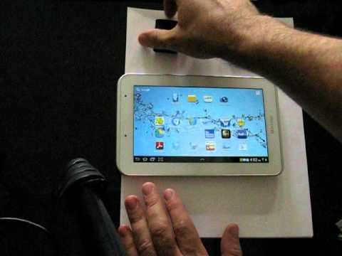 Samsung Galaxy Tab 2 7.0 student edition review usb host