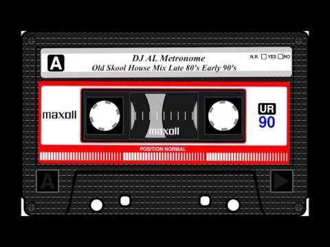 Old Skool 80s90s House Music DJ Mix  AL Metronome