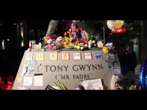 Tony Gwynn Statue Tribute