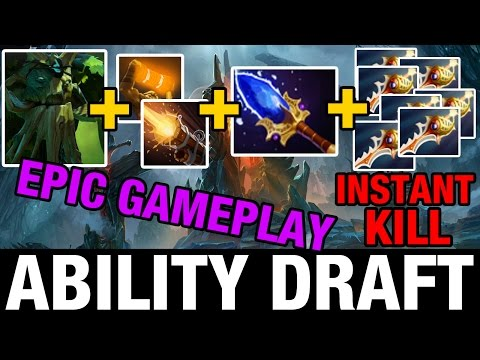 Download EPIC GAMEPLAY - TREANT CARRY WITH FULL DIVINES - ABILITY DRAFT - Dota 2