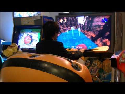 ★日本ゲーム博物館 NAMCO RAPID RIVER