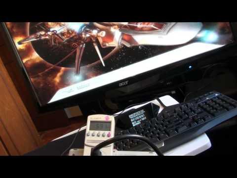 3 way gtx 480. gigabyte ud9. 980x 4.4ghz um teste rapido de consumo