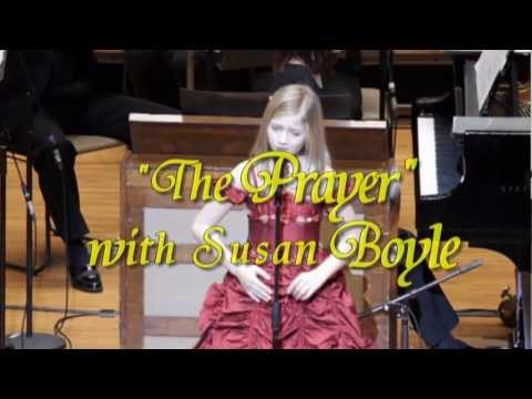 Video 2013-1-43 Jackie Evancho Performs the Prayer With Susan Boyle video