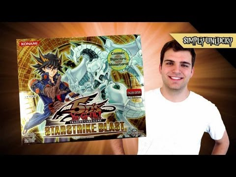 Best Yugioh 5ds Starstrike Blast 1st Edition Booster Box Opening Ever! video