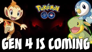 GEN 4 IS COMING TO POKEMON GO! TEASER VIDEO FOR GENERATION 4 SINNOH REGION IN POKEMON GO!