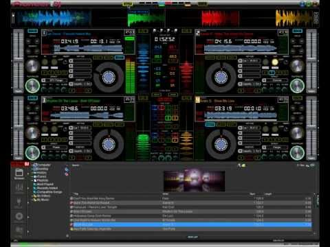 New Virtual DJ V7 Pro Skin, Pioneer Pro DJ, August 2012