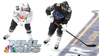 NHL All-Star Game 2020: Pacific vs. Central Semifinal Enhanced Highlights | NBC Sports