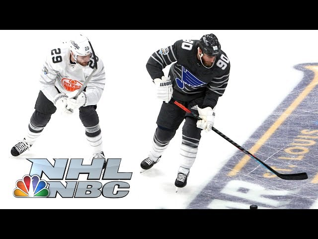 NHL All-Star Game 2020 Pacific vs. Central Semifinal Highlights  NBC Sports