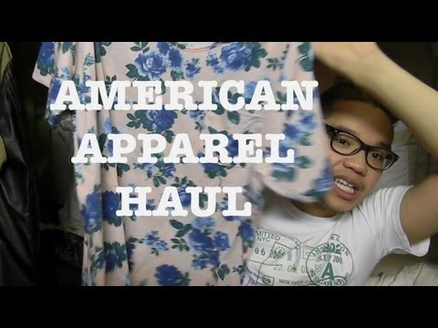 American Apparel Haul