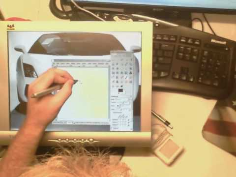 DIY Cintiq tablet monitor