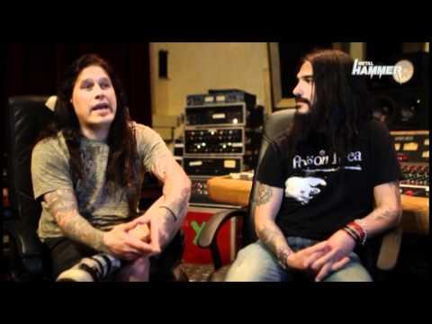 Phil Demmel&Robb Flynn interviewed at Jingle Town Recording Studios in Oakland, CA 2011