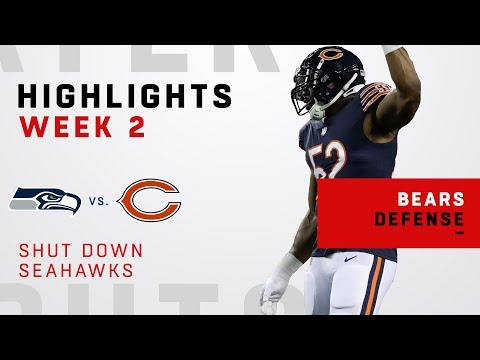 Khalil Mack & Bears Shut Down Seahawks!