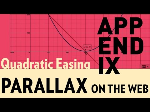 Parallax on the Web (Appendix1) -  Quadratic Easing