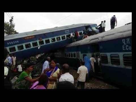 Kalinga-Utkal Express meets with an accident near Khatauli, Muzaffarnagar thumbnail