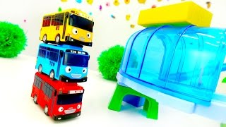 Tayo toys videos for kids. Toy cars.