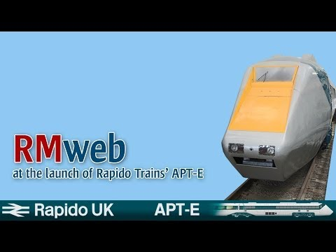 Rapido Trains APT-E