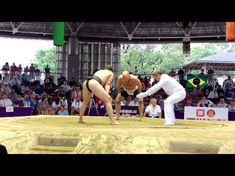 RUS Altyev vs FIN. Sumo World Championships 2015
