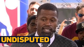 Draymond Green recruited KD right after 2016 NBA Finals loss - Stephen Jackson reacts | UNDISPUTED