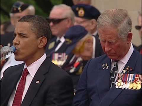 World leaders pay homage to D-Day's history-makers