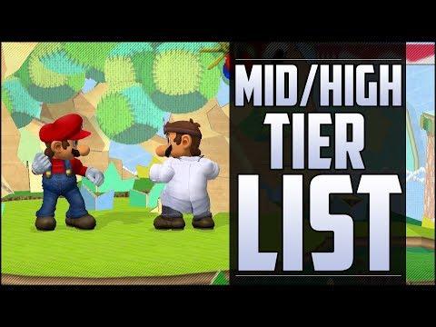 Armada's Melee Mid/High tier list part 3