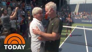 Holocaust Survivor Gets Heartwarming Surprise From Hoda Kotb At US Open | TODAY
