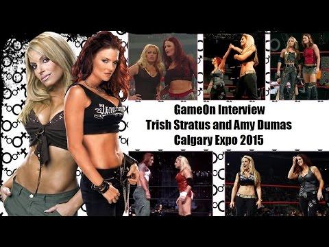 Gameon Interview - Trish Stratus And Amy Dumas - Calgary Expo 2015 video