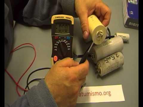 COMO COMPROBAR CONDENSADORES CAPACITORES CON CAPACIMETRO NEWCASON  XC6013L  video 2 de 2