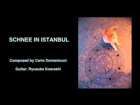 Schnee in Istanbul, by Carlo Domeniconi