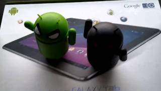 Samsung Galaxy Tab 10.1 Google I/O 2011 Back-Facing Camera VIdeo