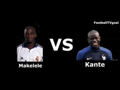 [Old school VS New school] Claude Makelele VS N'Golo Kante
