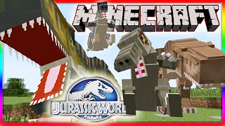 Minecraft Jurassic World Modded Roleplay Adventure! Ep.2
