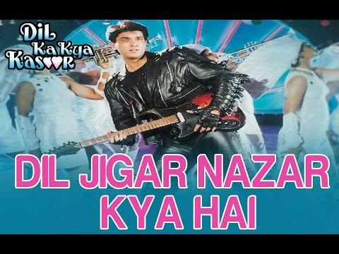 Dil Jigar Nazar Kya hai - Dil Ka Kya Kasoor - Divya Bharti &...