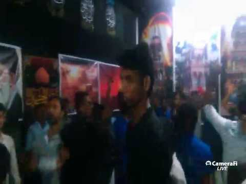 Azadari Channel's Live matam at Gopalpur | Latest Noha 2017