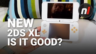 Is the New 2DS XL Any Good? New Nintendo 2DS XL Hands-On, Unboxing, & Overview