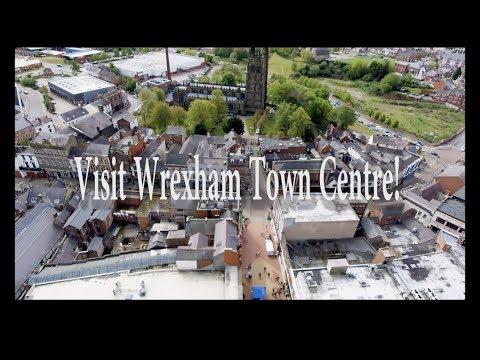 Visit Wrexham Town Centre, Shop, Eat, Drink be Entertained