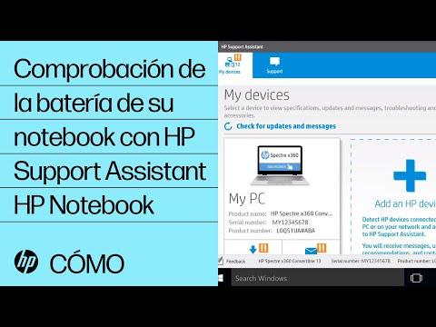 Comprobación de la batería de su notebook con HP Support Assistant | HP Notebook | HP
