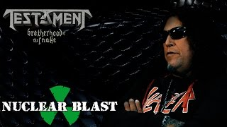 "TESTAMENT ""Brotherhood Of The Snake"" (trailer #1)"
