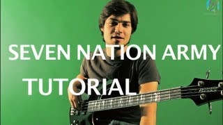 Bajo para principiantes - Seven Nation Army (tutorial bajo) HD