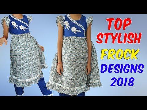 New Top Stylish Frock Designs 2018 - Latest Fashion Trend | HandMade Design