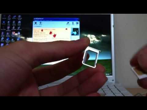 Hướng dẫn tháo lắp sim cho iphone 4