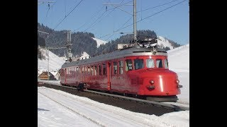 Mit dem Churchil Pfeil - RAe 4 /8 1021 - durch die Schweiz 2010-02-13