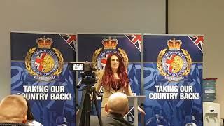 Jayda Fransen Speech Britain First Conference 2017
