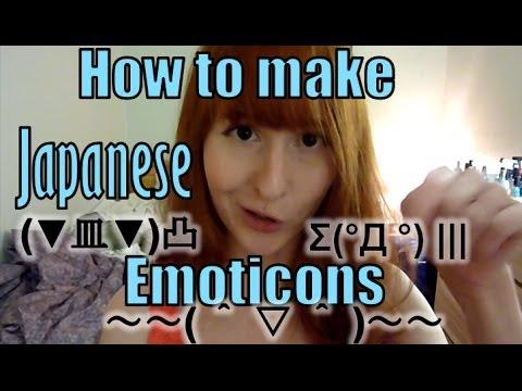 Making Japanese Emoticons! ~( ^ - x - ^)ฅ【顔文字を作りましょう!】日英字幕
