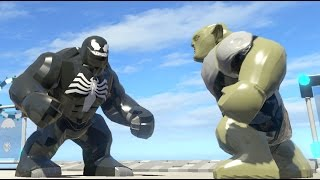 GREEN GOBLIN VS VENOM (BATTLE) - LEGO Marvel Super heroes