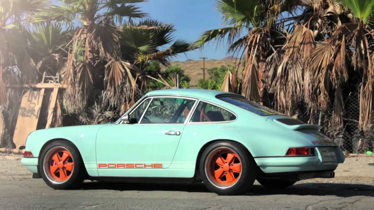 Old Porsche Targa Oldtimer Sportwagen Porsche Aus Dem
