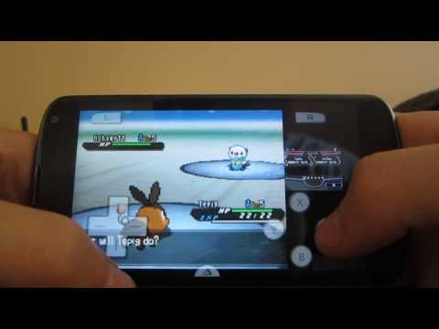 DraStic DS Emulator Pokemon black 2 Gameplay + Download link